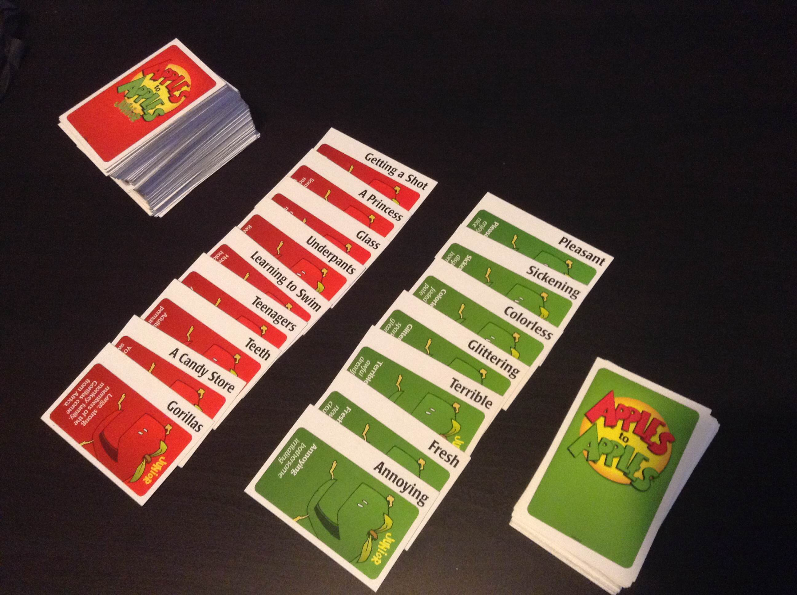 photo regarding Apples to Apples Cards Printable titled Adapting online games Apples toward apples