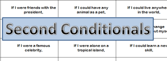 Second conditionals
