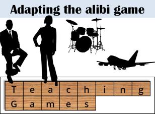 teaching games - alibi cover 2