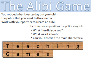 teaching games - alibi cover